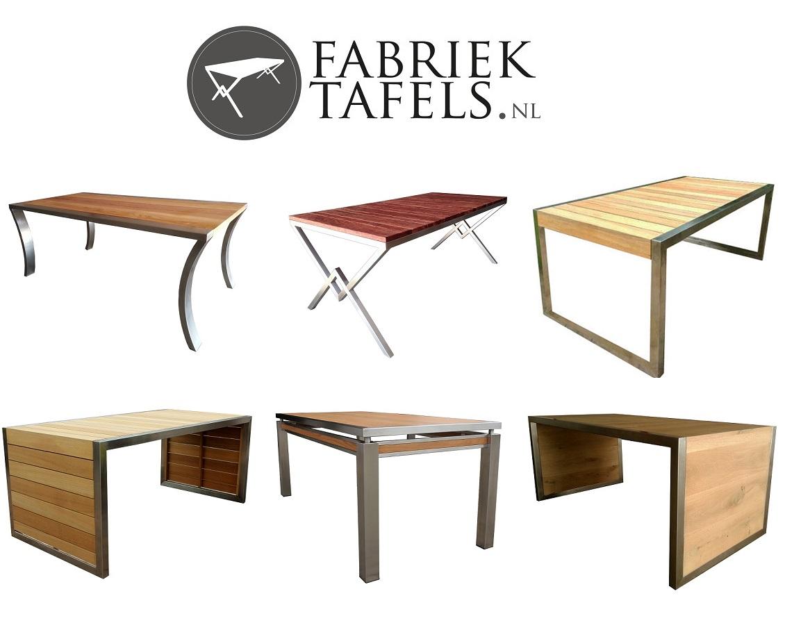 RVS tafel   Fabriekmeubels nl