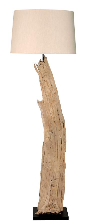 landelijke houten lampen