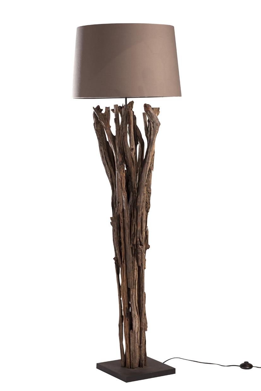 Landelijke houten lampen for Landelijke lampen