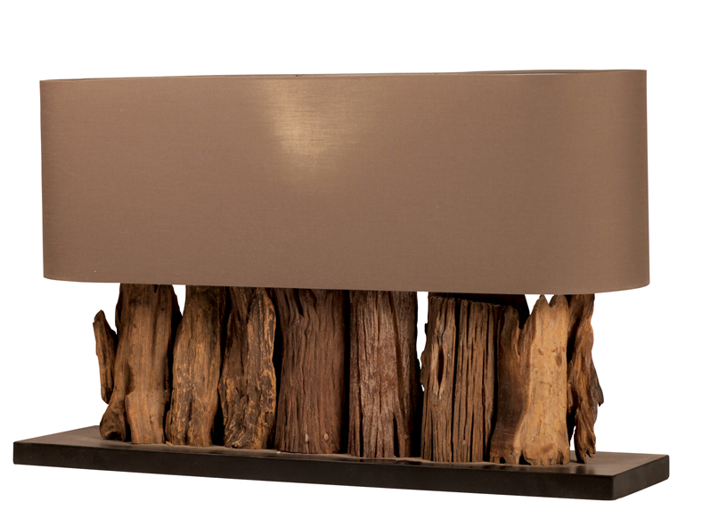 Lampen hout for Design lamp hout