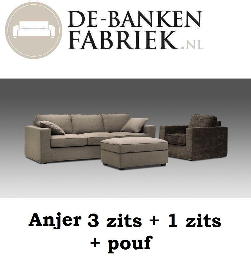 zitbank - bankstel - fauteuil