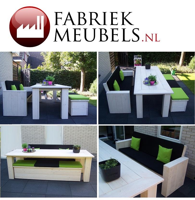 Tuinmeubels Steigerhout Alkmaar