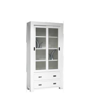 glaskast-square-2-deuren-4-lades